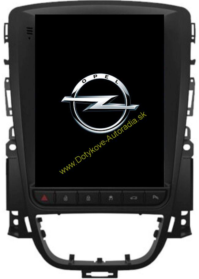 OPEL ASTRA J 2010+ TESLA style ANDROID NAVI