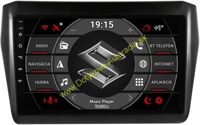 SUZUKI SWIFT 2017+ ANDROID AUTORADIO NAVI