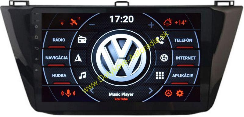 AMARK AM9232 VW TIGUAN 2016 - Android AUTORADIO NAVI