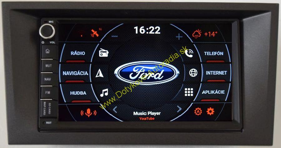 AMARK AM6009 FORD MODEO MK3 2003-2007 AUTORADIO NAVI ANDROID
