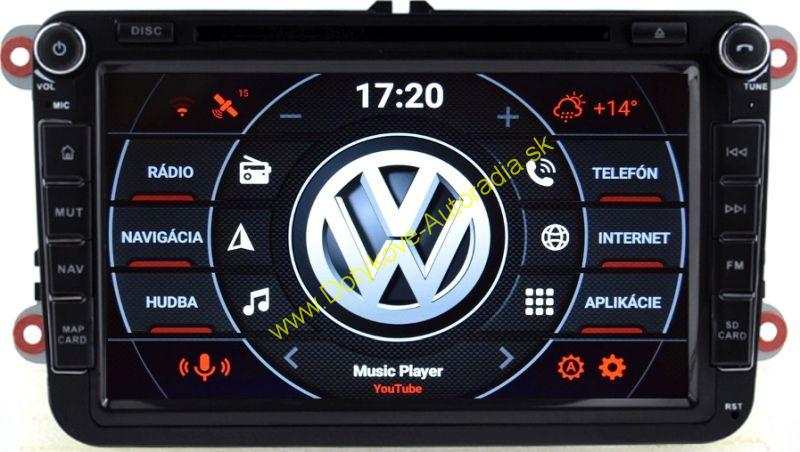 "AMARK AM7017 VW SKODA SEAT 8"" ANDROID NAVI"