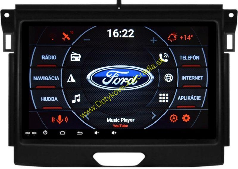 AMARK AM9495 FORD RANGER 2015+ ANDROID AUTORADIO NAVI