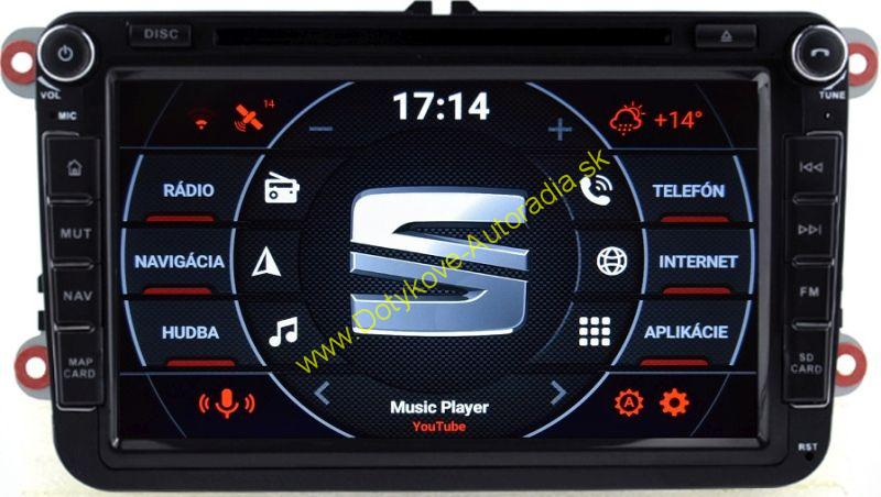 "AMARK AM7017 SEAT 8"" AUTORADIO PASSAT GOLF TOURAN SHARAN TIGUAN OCTAVIA SUPERB LEON ALTEA atd"