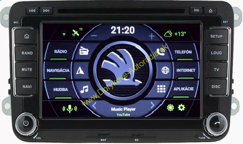 "AMARK AM7019S SKODA 7"" AUTORADIO PASSAT GOLF TOURAN SHARAN TIGUAN OCTAVIA SUPERB LEON ALTEA atd"