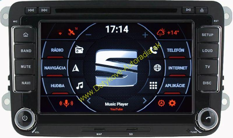 "AMARK AM7019 SEAT 7"" AUTORADIO PASSAT GOLF TOURAN SHARAN TIGUAN OCTAVIA SUPERB LEON ALTEA atd"