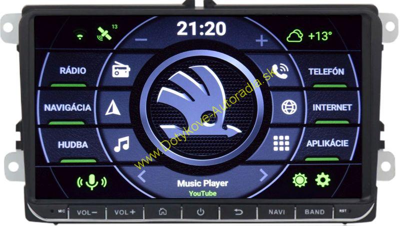 "AMARK AM1001 SKODA 9"" AUTORADIO PASSAT GOLF TOURAN OCTAVIA SUPERB LEON ALTEA atd..."