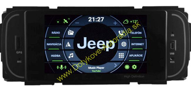 AMARK AM6838 JEEP CHRYSLER DODGE 300C 300M Voyager Caliber Caravan Grand Cherokee starsie modely ANDROID AUTORADIO NAVI