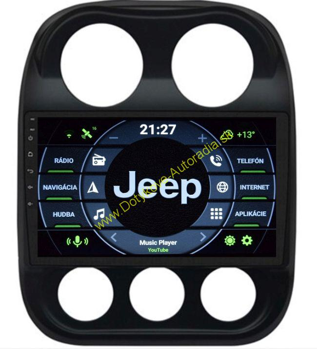 AMARK AM9832 JEEP COMPASS 2010-16 ANDROID AUTORADIO NAVI