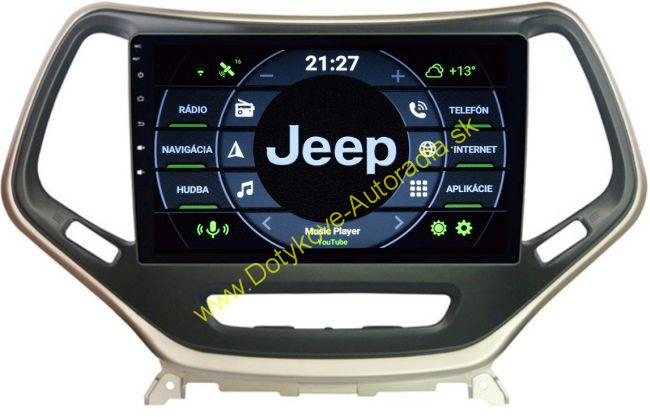 AMARK AM9834 JEEP CHEROKEE 2016 ANDROID AUTORADIO NAVI
