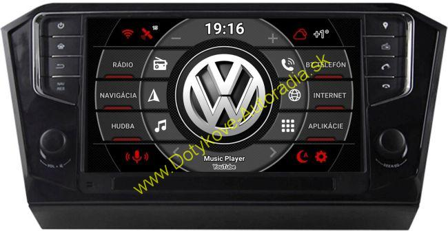 AMARK AM9242 VW PASSAT B8 Android AUTORADIO NAVI
