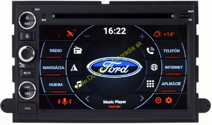 AMARK AM7030 FORD MUSTANG EDGE EXPLORER EXPEDITION FUSION FIESTA F150 ANDROID AUTORADIO NAVI